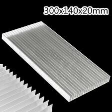 300x140x20mm Aluminum Heat Sink Chip Cooling For LED Power IC Transistor Module