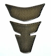 REAL CARBON FIBER GAS FUEL OIL TANK PAD PROTECTOR STICKER MOTORCYCLE TRIM