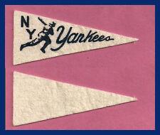 VINTAGE New York Yankees Baseball Pennant! WOW