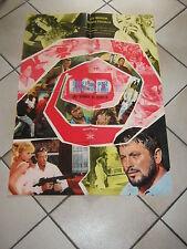 SOGGETTONE,LSD,Una atomica nel cervello,Guy Madison,Massimo Mida,Polesello,1967,