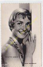 RPPC STAR BRIGITTE AUBER PHOTO PARAMOUNT Edit KORES