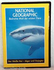 DVD Bedrohte Welt der wilden Tiere - DER WEIßE HAI-Jäger und Gejagter