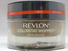 REVLON - LOT OF 2 - COLORSTAY WHIPPED CREME MAKEUP - #340 CARAMEL - SEALED
