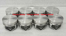 Chevy 7.4/454 Speed Pro Hypereutectic Coated Skirt Flat Top Pistons Set/8 +.030""
