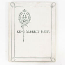 Antique King Albert's Book Illustrations Collection Hardcover Book
