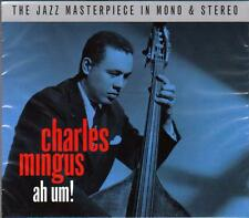 CHARLES MINGUS - AH UM! - THE JAZZ MASTERPIECE IN MONO & STEREO (NEW SEALED 2CD)