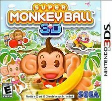 Super Monkey Ball 3D (Nintendo 3DS, 2011) Brand New (NTSC/US/CA)
