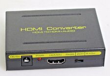 1080P HDMI to HDMI & Optical SPDIF + RCA L/R Audio Extractor Converter Splitter