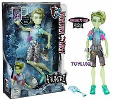 Monster High HAUNTED PORTER GEISS Doll Son of POLTERGEIST Boy Student Spirit NEW