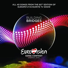 EUROVISION SONG CONTEST, VIENNA 2015  2 CD NEW+