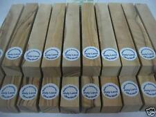 135 ~WHITE, BROWN AND SLIGHTLY FIGURED ~olive wood, Pen Turning Blanks, see pict