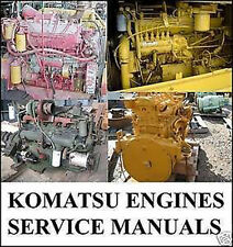 KOMATSU ENGINES SHOP SERVICE MANUAL  6D102E-2 6D108E-2 6D110 6D114E-2 6D125E-2