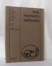 CRISI MOMENTO DELL'ANALISI Rivista Psicologia Analitica PSICOANALISI Carotenuto