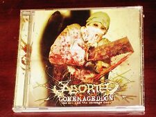 Aborted: Goremageddon - The Saw And Carnage Done CD ECD 2003 Bonus Video Olympic