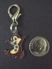 New Disney Chip The Chipmunk Enamel Charm Zipper Pull Cartoon Movie Characters