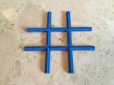 Vintage Lego Blue Train Track Cross Piece