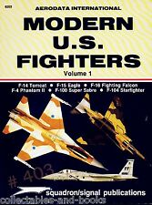 Modern U.S.Fighters - Aerodata International 1982 F-14 TOMCAT F-104 STARFIGHTER