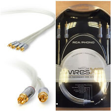Techlink Wires XS70 RCA input / output 2 Phono to 2 Phono Plugs Cable Lead - 5m