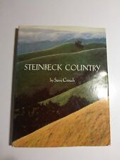 Steinbeck Country Photographs and Words by Steve Crouch, 1st Ed.& Print D/J B5