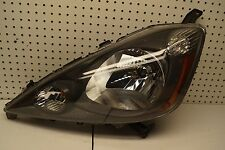 2009 2010 2011 2012 2013 Honda Fit Left Side Halogen Headlight Black Bezel OEM