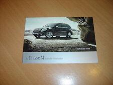 CATALOGUE Mercedes Classe M de 2008