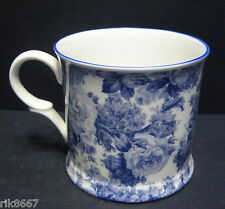 1 Laura Blue English Fine Bone China Chintz Mug Cup Beaker By Milton China