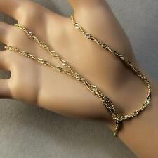 9 ct gold second hand open curb chain