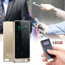 Portable TFT Screen Lossless MP3 Music Player recorder Full Metal 16G Gold SP