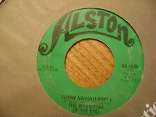 ALSTON 45 RECORD/The Beginning Of The End/ Funky Nassau Pt 1&2 /4595  VG SOUL