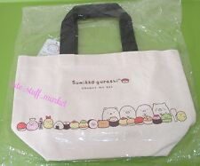 SAN-X JAPAN SUMIKKO GURASHI KAWAII SUSHI PARTY MINI TOTE BAG US Seller