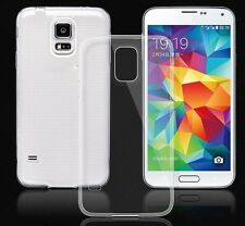 Clear TPU Gel Silicone Case Cover For Samsung Galaxy S5 Neo & Screen Protector