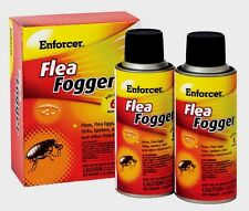 New!!! Enforcer Flea Fogger Kills Fleas, Ticks and Spiders 2-2oz. Cans EFF2