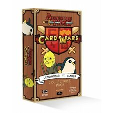 Adventure Time Card Wars Expansion Lemongrab Vs Gunter Brand New