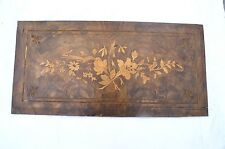 architectural salvage inlayed panel