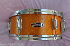 "ADD this RARE 1960's PEARL 14"" GOLD SPARKLE SNARE DRUM to YOUR DRUM SET! #T746"