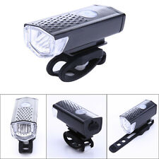 300LM Cycling Bicycle CREE LED Lamp USB Rechargeable Bike Front Light Head Lamp