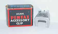 ORIGINAL ASAHI PENTAX SPOTMATIC  CLIP-ON ACCESSORY SHOE & BOX