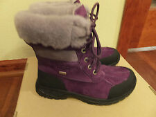 * $170 Sz 3 UGG Kids Girls Butte Deep Purple Winter Boots -4F Event Waterproof