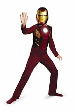 The Avengers Iron Man - Mark VII Basic Costume Child Size 4-6 NWT 43615
