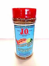 J.O. Spices Maryland Co. CARIBBEAN JERK All Meat & Seafood Seasoning 12 Oz Jar