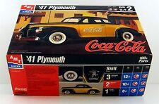 AMT/ERTL 1941 PLYMOUTH COUPE 1/25 PLASTIC MODEL CAR KIT ( Unbuilt )