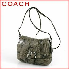 NWT COACH Soho Embossed Exotic Flap Swingpack Leather Bag SRP $198 FREE SHIP