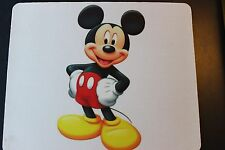 MICKEY MOUSE ! Disney Anti slip COMPUTER MOUSE PAD 9 X 7inch
