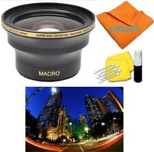 58mm X38 HD ULTRA WIDE ANGLE Lens for Canon EOS Rebel 300D T3 T4 T5 T3I T4 T4I