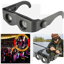 Portable!!Glasses Style Telescope Magnifier Binocular For Fishing Hiking Concert