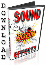 SOUND FX - REASON REFILL-  FRUITY LOOPS - NUENDO - CUBASE - FL STUDIO - ABLETON