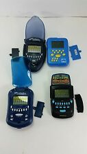 Lot Of 4 Solitaire Handheld Games Radica Bicycle Regular and Klondike