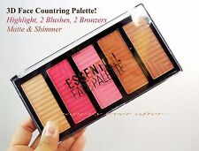 3D Face Contouring Palette - Beauty Treats Bronzer, Blush & Highlight Powder!