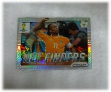 2014 Panini Prizm World Cup Refractor Net Finders Didier Drogba Ivory Coast #8