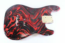 Replacement Multicolor Swirl P bass guitar body -fits fender necks P187